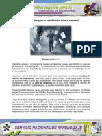 AA3 Documentos Constitucion Empresa