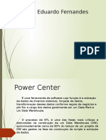 Power Center ferramenta Etl