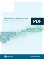 Rethinking Our Built Environment