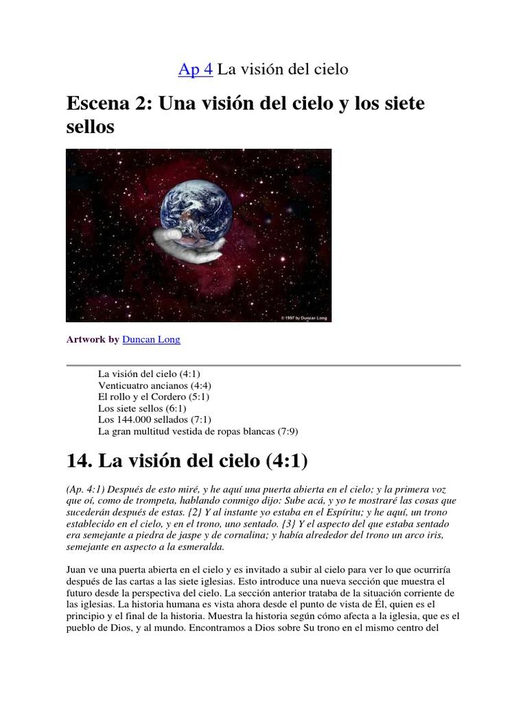 Ap 4. La visión del cielo.pdf | Libro de revelación | Espíritu