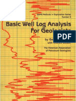 Basic Well Log Analysis for Geologists