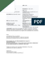 Clasificacion Del Titulo Supletorio