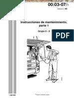 Manual Scania Instrucciones de Mantenimiento