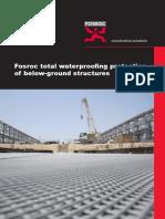 Fosroc Below Ground Waterproofing Brochure