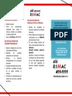 Cartilla de Instrucciones 2015 Actualizado