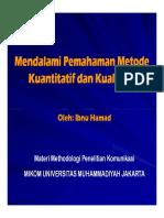 Metode Penelitian Kuantitatif Dan Kualitatif 2
