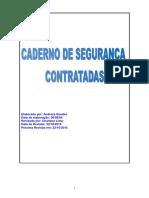 Caderno de SSMA Alcooa - Itapissuma