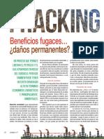 Fracking Beneficios Fugaces Danos Permanentes