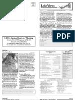 Lake Views Newsletter, Spring 2009, Lake Beulah Protective Association