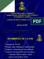 Informe del BHI a la VIII SEPHC 2008