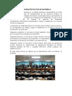Organización Politica de Guatemala