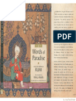 Words of Paradise - Selected Poems of Rumi