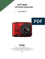 DVR 786HD Camera Manual[1]