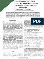 Refinery Heat Exchange Network 1992