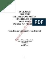 Syllabus of Fine Arte