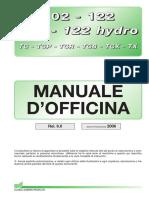 Wsm102-IT-2006 Pre2 Trattorino Tc 102-122 Manutenzione Chinghia e Coppie Di Seraggio