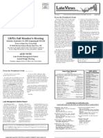 Lake Views Newsletter, Fall 2005, Lake Beulah Protective Association