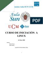 Curso Linux Basico Sun