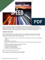 Jazz Scales _ How to Practice Jazz Scales for Speed _ Jazzadvice