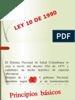 LEY 10 de 1990 Power Point 1