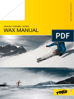 Toko Wax Manual 10-11