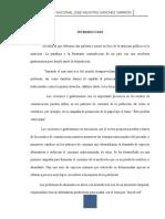 Analisis de La Nutricion en El Perú