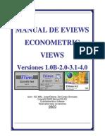 EViews Manual 2003.PDF