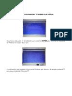Manual de instalación de arranque dual  de  los sistemas operativos (Linux y Windows).