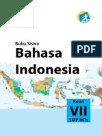 Buku Siswa Kelas VII Bahasa Indonesia Edisi Terbaru