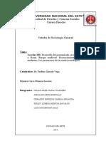 Trabajo de Sociología General Lección 12 Desarrollo Del Pensamiento Social