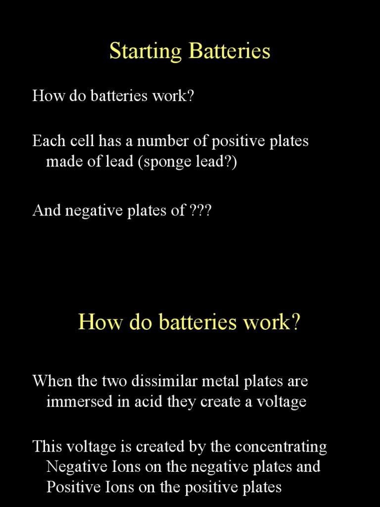 Hv Batteries