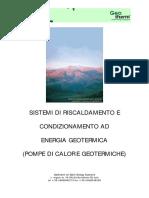 Sistemi Di Riscaldamento E Condizionamento Geotermico