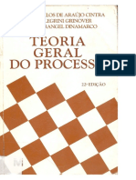 Teoria Geral Do Processo Ed. 22 Livro Ada Pelegrine
