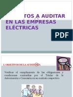 Aspectos a Auditar en Las Empresas Electricas