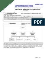 Perfil CDR Recursos Humanos