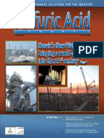 Magazine of the Sulfuric Acid Today Spring/Summer 2015