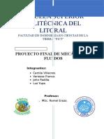 Mec Fluidos Proyc Final