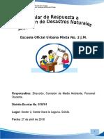 Plan de Reduccion de Des. Esc. No. 2