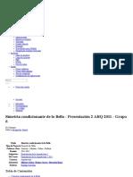 Simetria Condicionante de Lo Bello - Presentación 2 ARQ 2011 - Grupo 6 - Casiopea