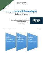 Programme D_informatique - Toutes Les Sections 2015 - KHALED KACHBOURI (1)