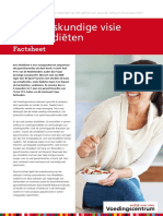 Factsheet - Voedingskundige visie op afvaldiëten