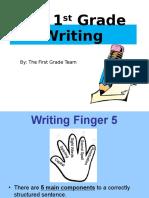 rising k writing powerpoint