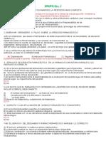 Balotario II Parcial