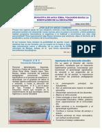 1 reportaje proceso proyecto educativo