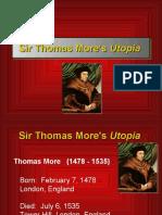 2174639 Sir Thomas Mores Utopia