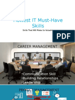 Hottest IT must-have skills