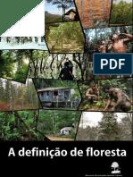 Definicao de Floresta da FAO