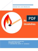 Causas y Prevención de Incendios