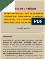 7.- METODO ANALITICO