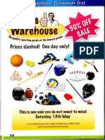 sams warehouse advertisement